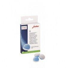 Jura 2 phase cleaning tablets (6 pcs)