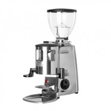 Mazzer Mini Timer Grinder With Doser Silver
