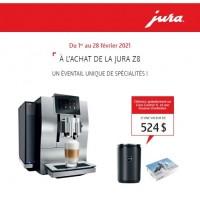 Jura Z8 + Jura Cool Control 1L + Jura care kit