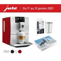 Jura Ena 8 Sunset Red + Gift Kit