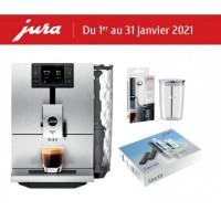 Jura Ena 8 Signature Line - Massive Aluminium + Gift Kit