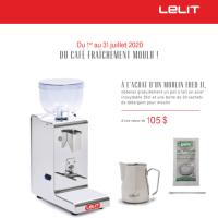LELIT Grinder FRED II PL044MM + FREE Gift Kit