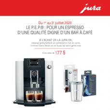 Jura E6 + FREE Gift Kit